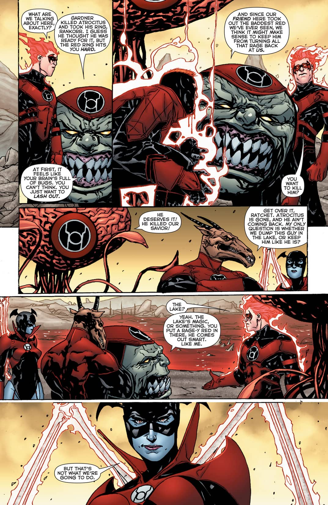 Red Lanterns (2011-2015) #22