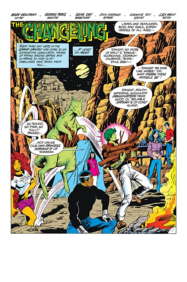click for super-sized previews of Tales Of The New Teen Titans (1982) #3