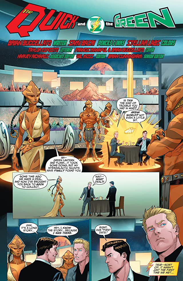 click for super-sized previews of The Flash (2011-) #2: Annual