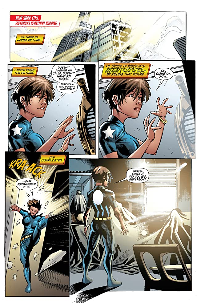 click for super-sized previews of Superboy (2011-2014) #22