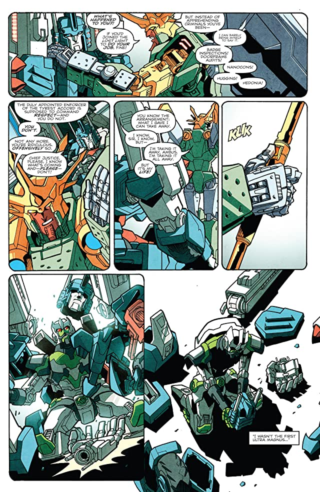 click for super-sized previews of Transformers: More Than Meets the Eye (2011-) #19