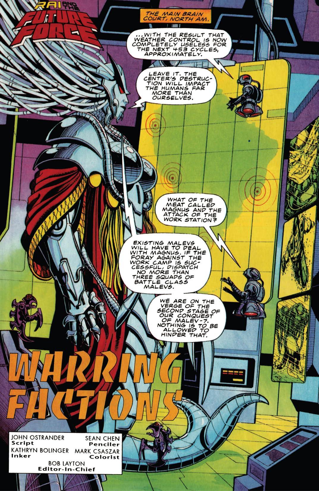 Rai and the Future Force (1992-1995) #14