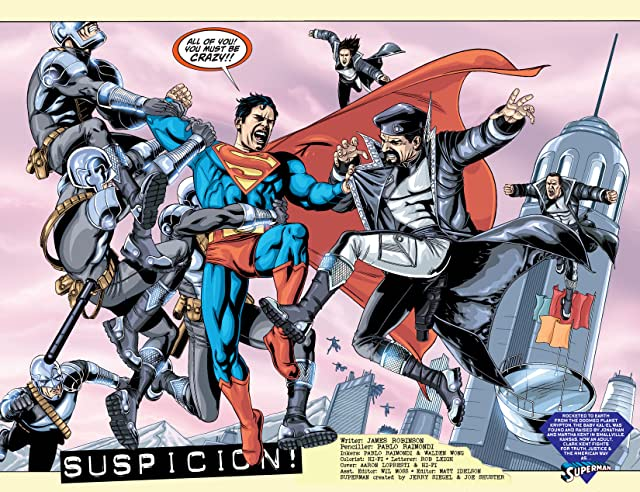 click for super-sized previews of Action Comics (1938-2011) #874