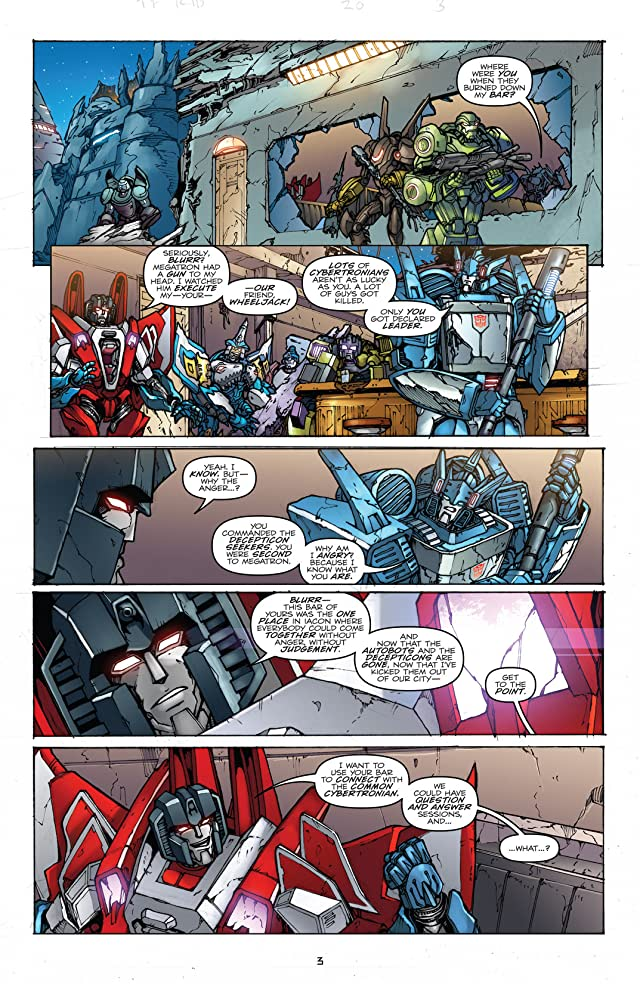 click for super-sized previews of Transformers: Robots In Disguise (2011-) #20