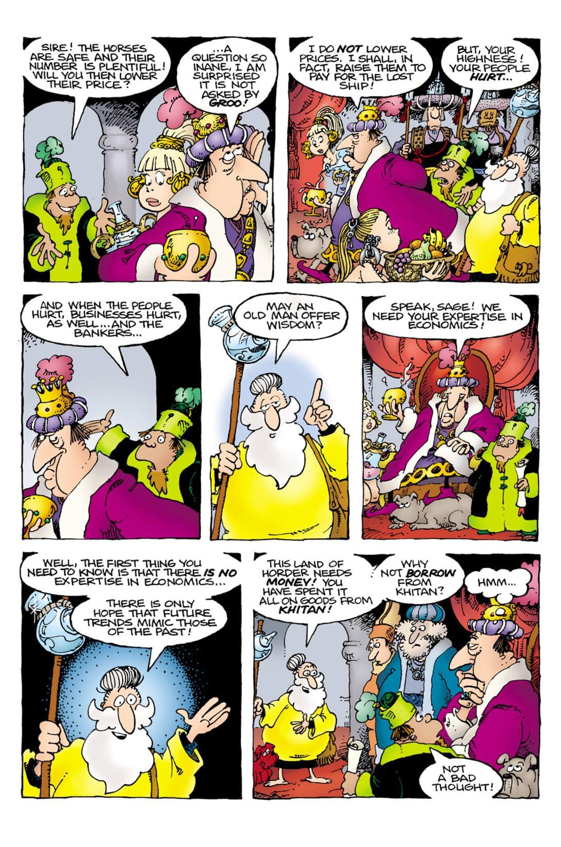 Groo: The Hogs of Horder #4