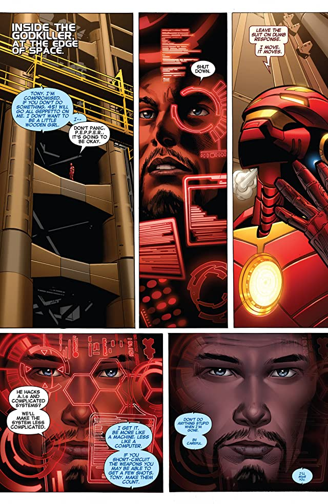 click for super-sized previews of Iron Man (2012-2014) #14