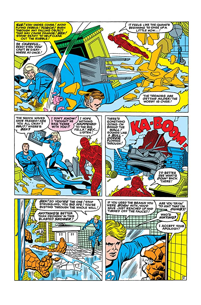 click for super-sized previews of Fantastic Four (1961-1998) #31