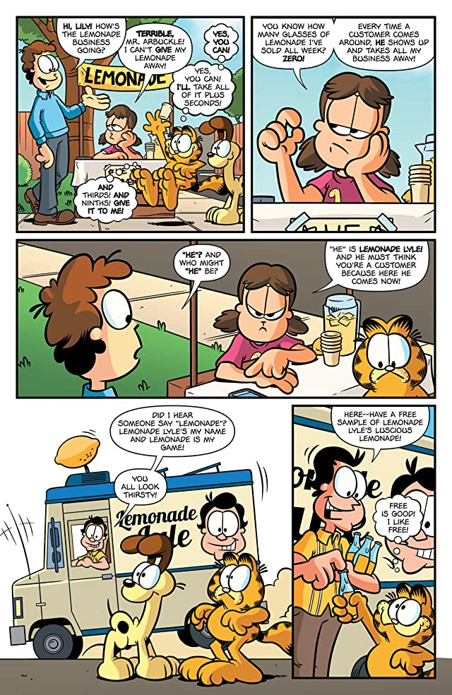 click for super-sized previews of Garfield #16