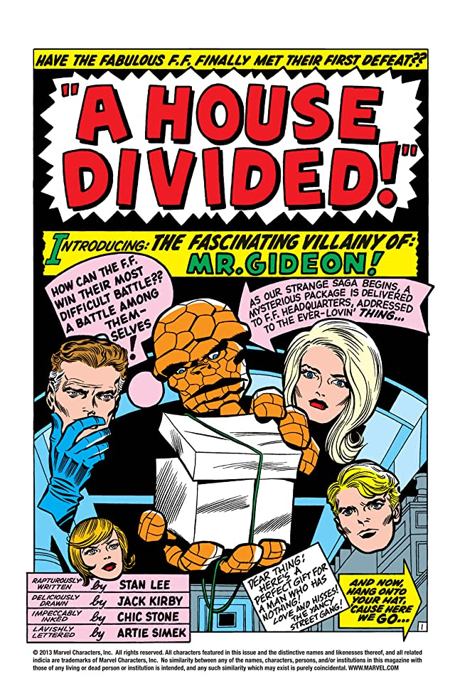 click for super-sized previews of Fantastic Four (1961-1998) #34