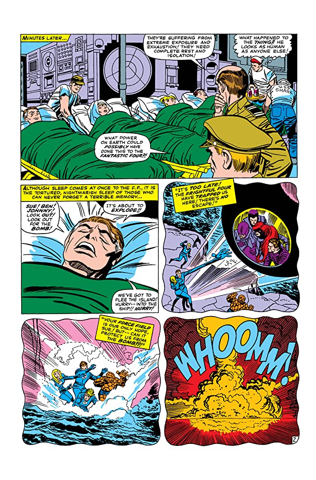 click for super-sized previews of Fantastic Four (1961-1998) #39