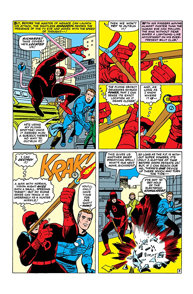 click for super-sized previews of Fantastic Four (1961-1998) #40