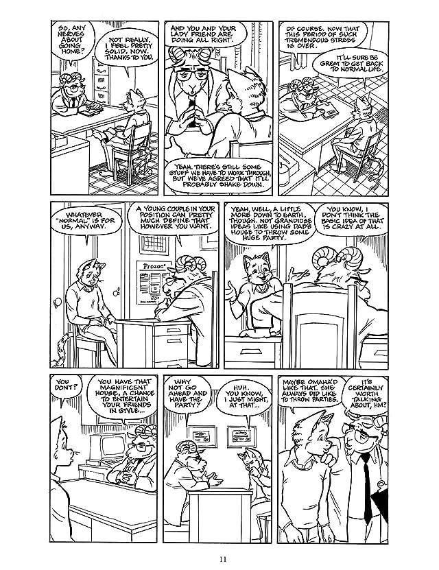 Omaha the Cat Dancer Vol. 7