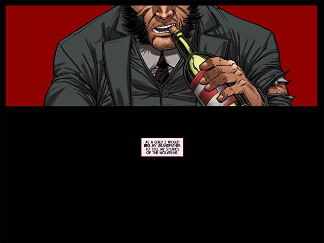 click for super-sized previews of Wolverine: Japan's Most Wanted Infinite Comic #5