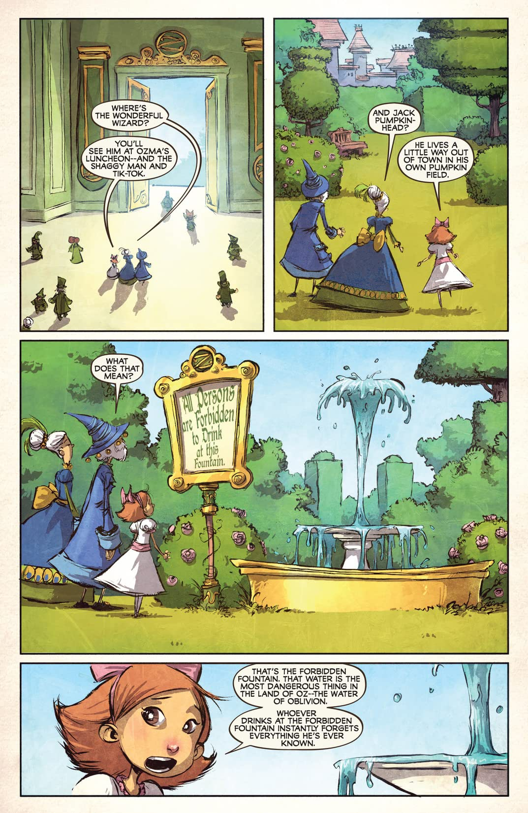 The Emerald City of Oz #2 (of 5)