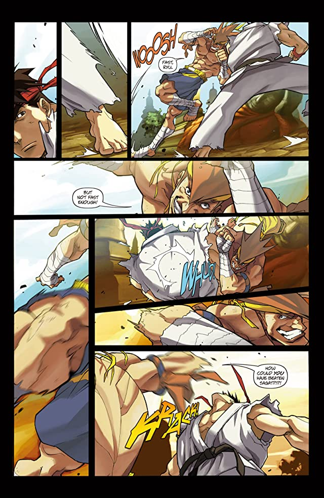 click for super-sized previews of Street Fighter #9