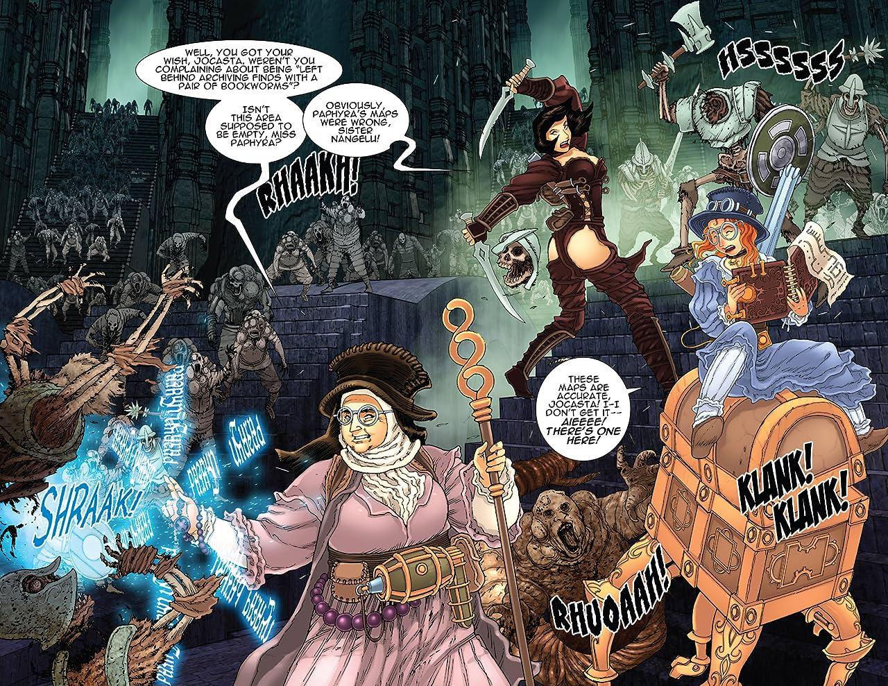 Victorian Secret: Girls of Steampunk: Summer Fun Special! #1