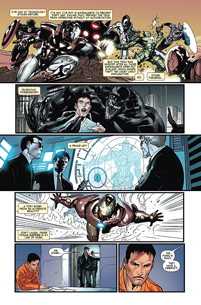 click for super-sized previews of Iron Man Vs. Whiplash #2