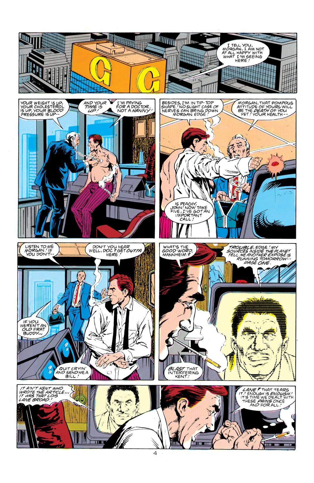 Adventures of Superman (1986-2006) #456