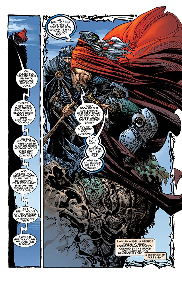 click for super-sized previews of Spawn: The Dark Ages #8