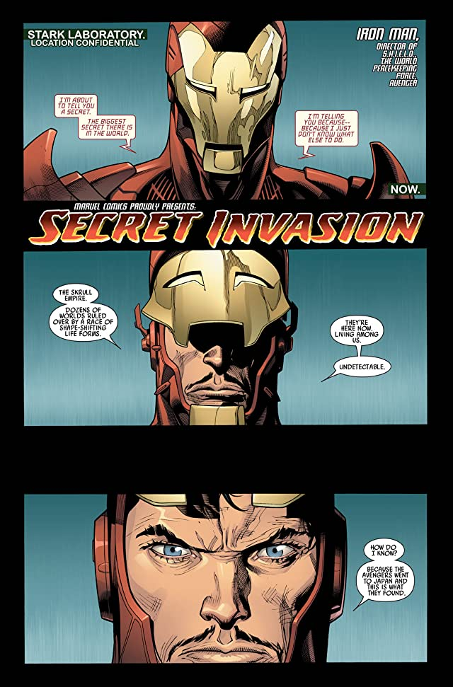click for super-sized previews of Secret Invasion #1