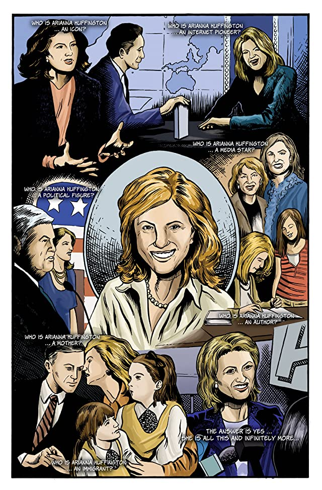 click for super-sized previews of Female Force: Arianna Huffington