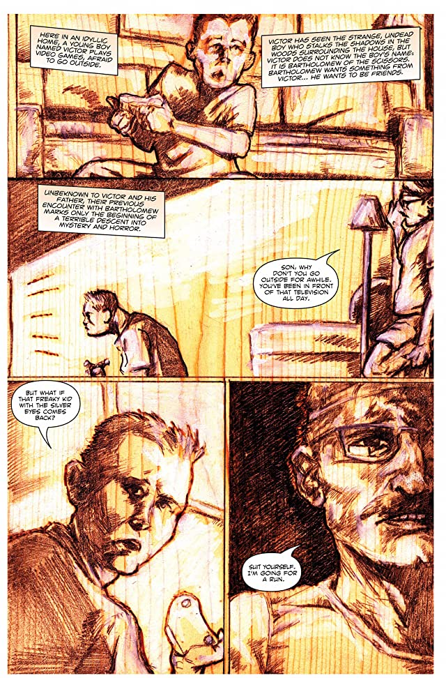 Bartholomew of the Scissors #2 (of 4)