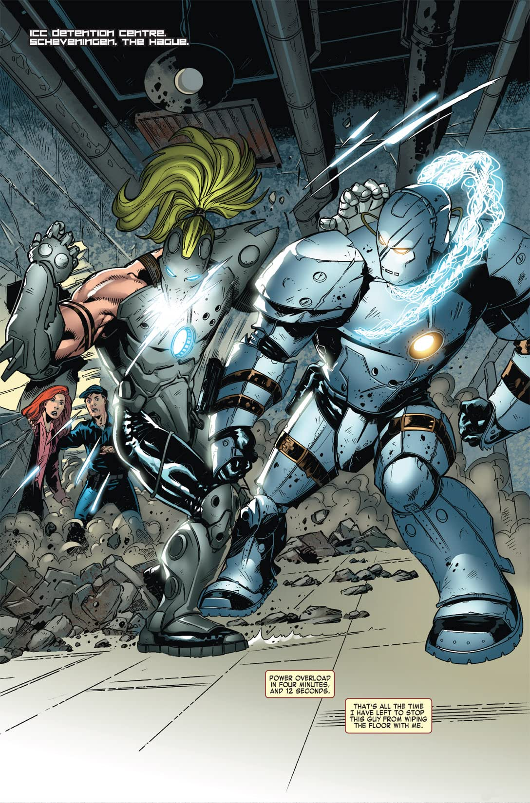 Iron Man vs. Whiplash #3 (of 4)