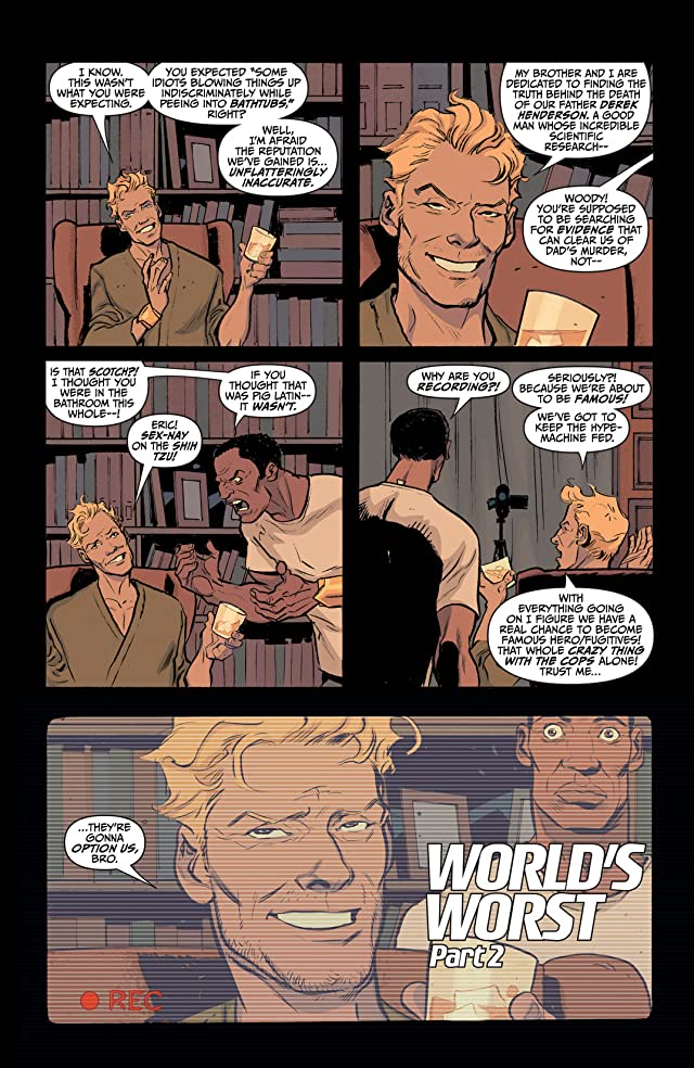 click for super-sized previews of Quantum and Woody (2013- ) #2: Digital Exclusives Edition