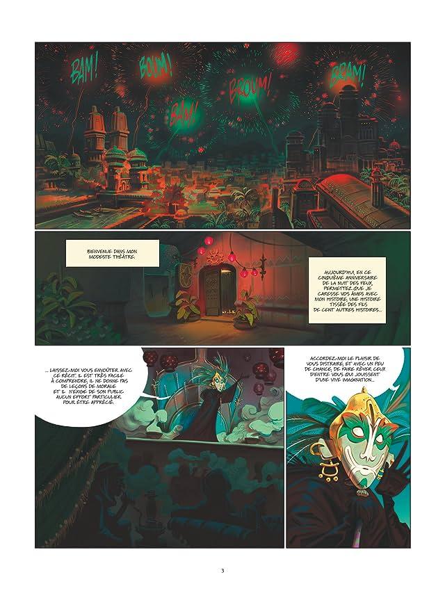 click for super-sized previews of Les contes de l'ère du Cobra Vol. 1: Les amants