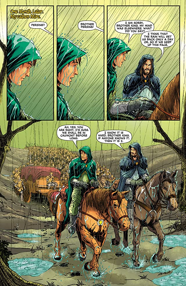 click for super-sized previews of Damsels #9