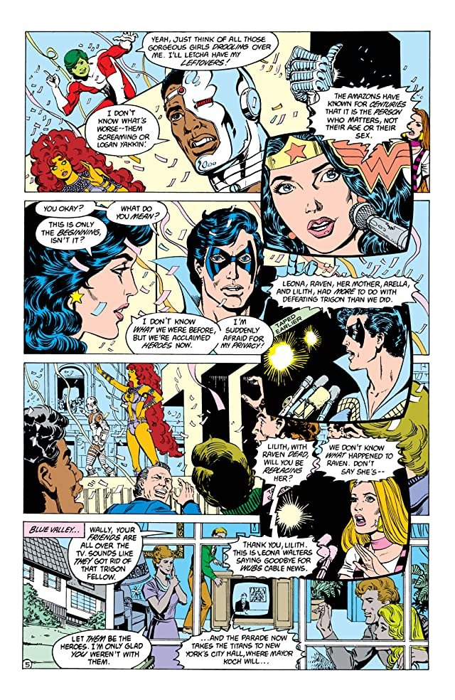 click for super-sized previews of The New Teen Titans (1984-1996) #6