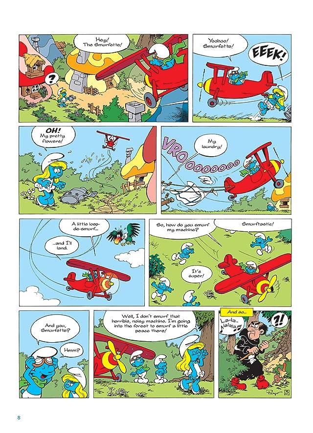 The Smurfs Vol. 16: Aerosmurf - Preview