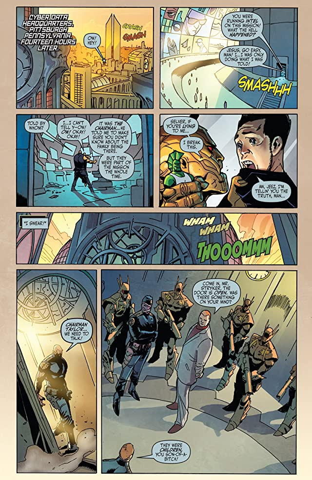 click for super-sized previews of Cyberforce (2012) #5