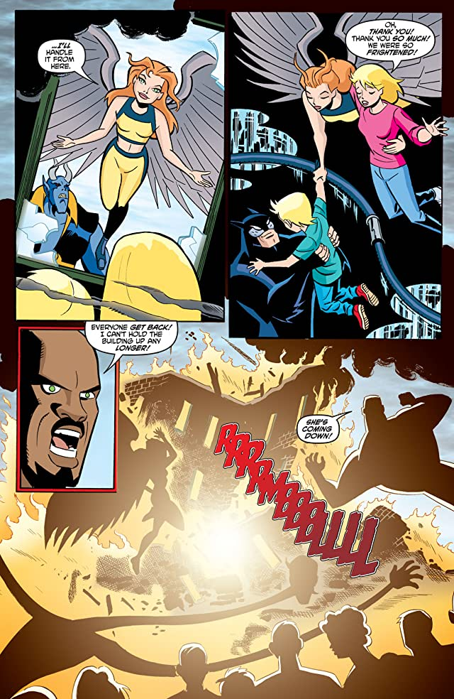 click for super-sized previews of Justice League Unlimited #25
