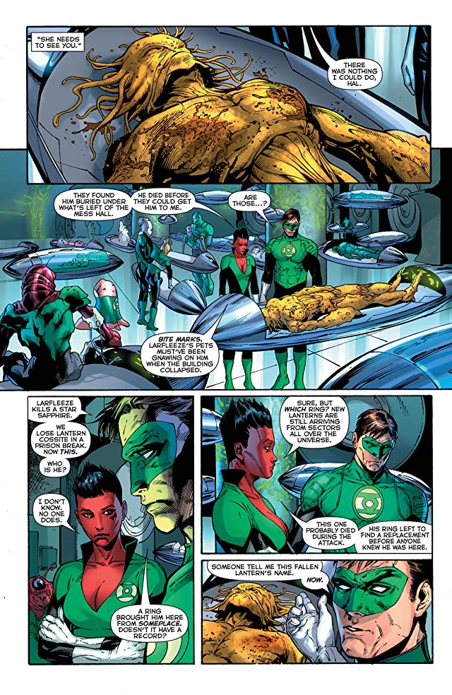 click for super-sized previews of Green Lantern (2011-) #23