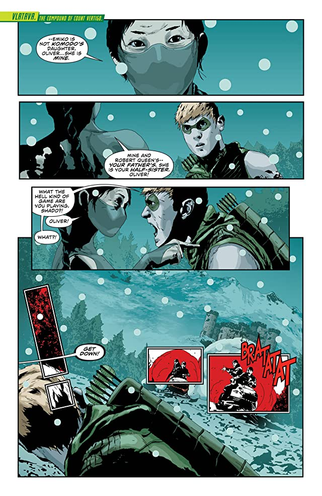 click for super-sized previews of Green Arrow (2011-) #23