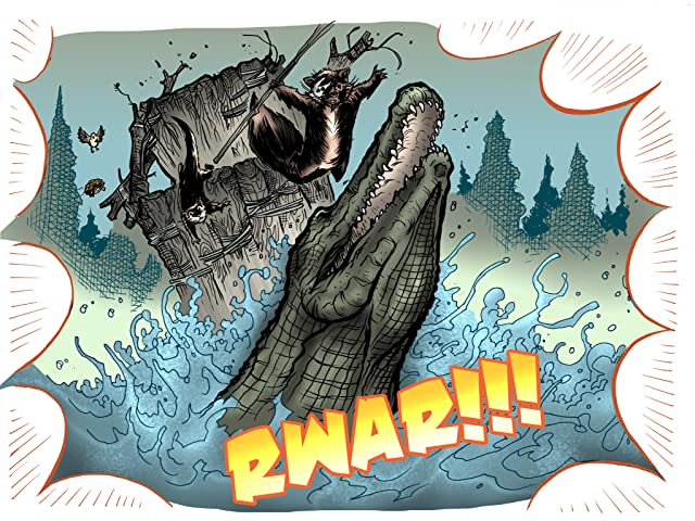 click for super-sized previews of War of the Woods : Season Two #2