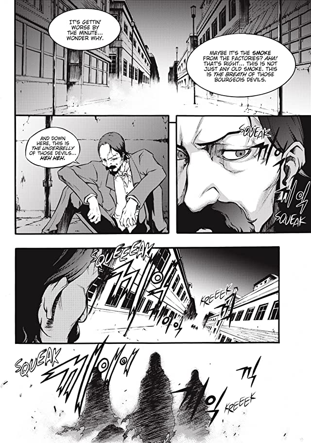 click for super-sized previews of Jack the Ripper: Hell Blade Vol. 2