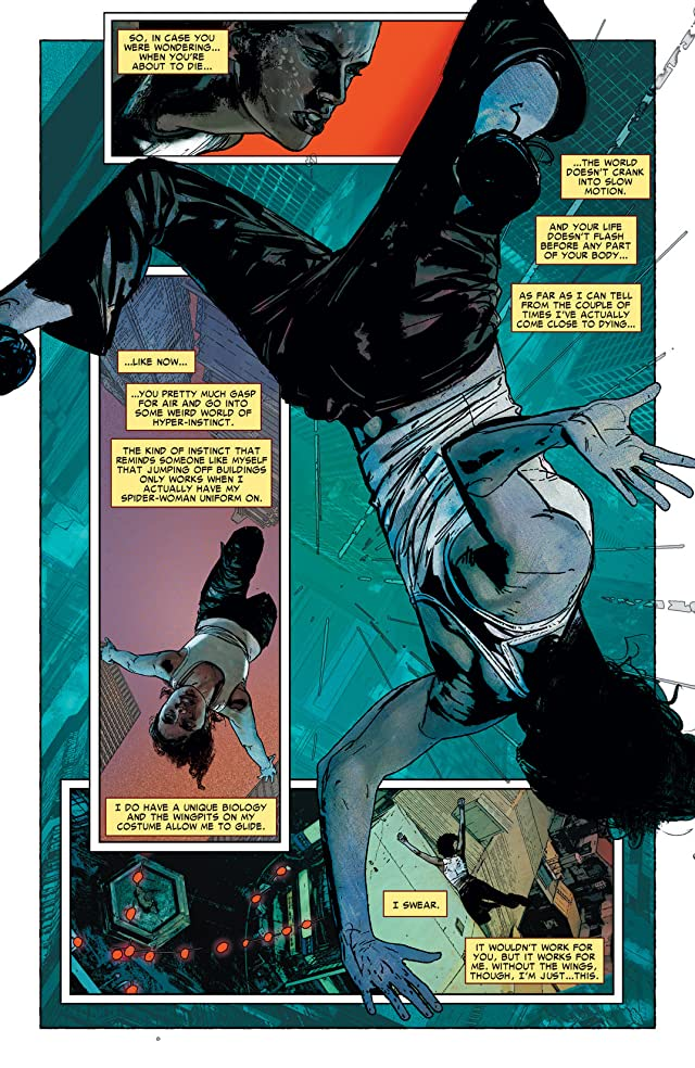 click for super-sized previews of Spider-Woman (2009-2010) #5
