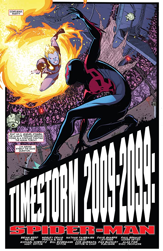 click for super-sized previews of Timestorm 2009/2099: Spider-Man