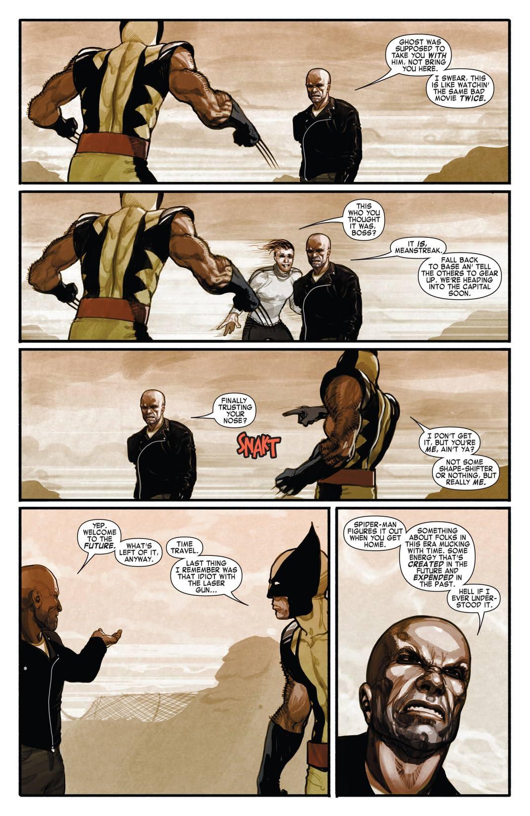 Timestorm 2009/2099: X-Men