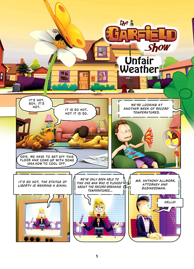 click for super-sized previews of The Garfield Show Vol. 1: Unfair Weather