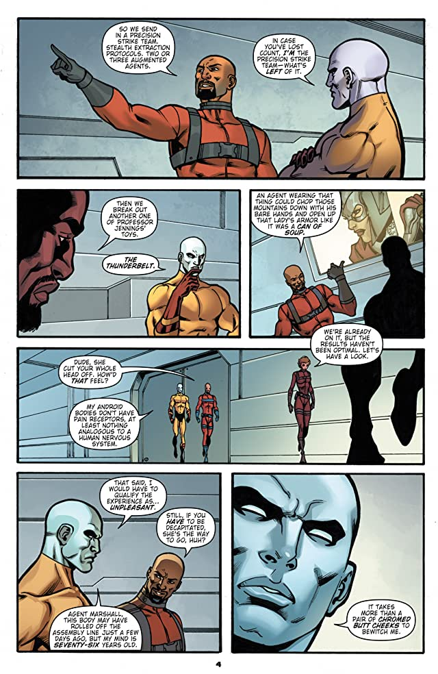 T.H.U.N.D.E.R. Agents #1