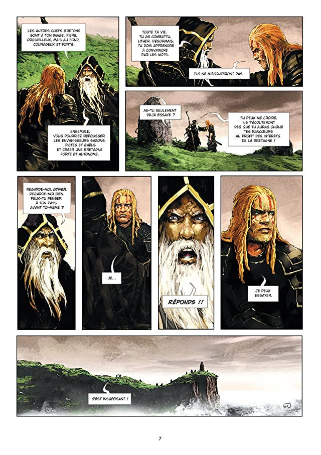 click for super-sized previews of Excalibur - Chroniques Vol. 1: Pendragon