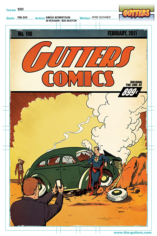 click for super-sized previews of Gutters #5