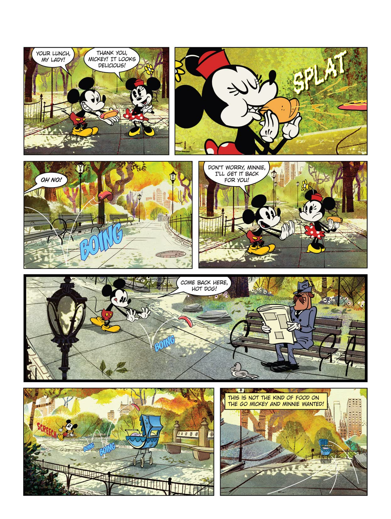 Mickey Mouse #2: Mickey Shorts