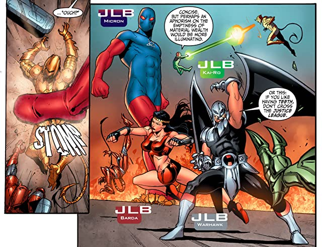 click for super-sized previews of Justice League Beyond 2.0 (2013-2014) #1