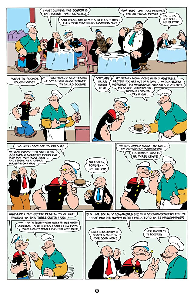 click for super-sized previews of Popeye Vol. 3