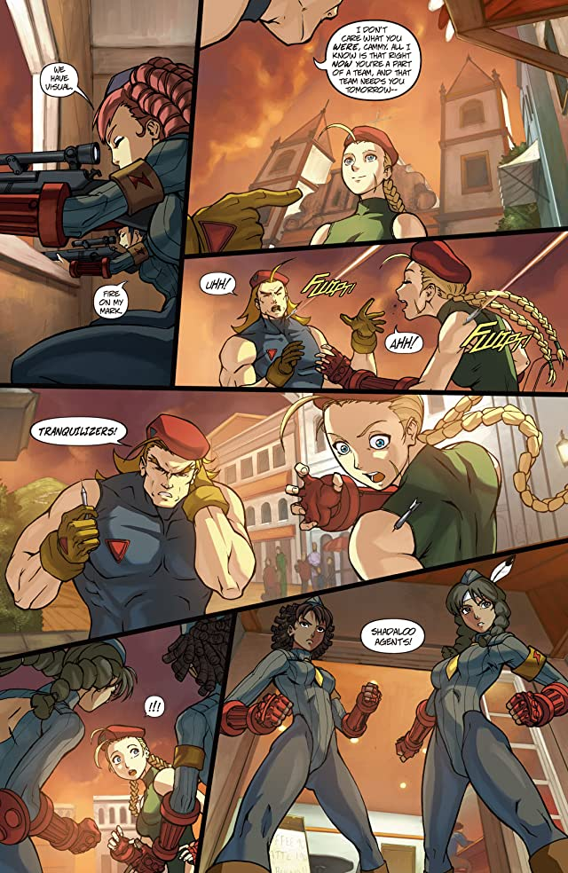 click for super-sized previews of Street Fighter #12