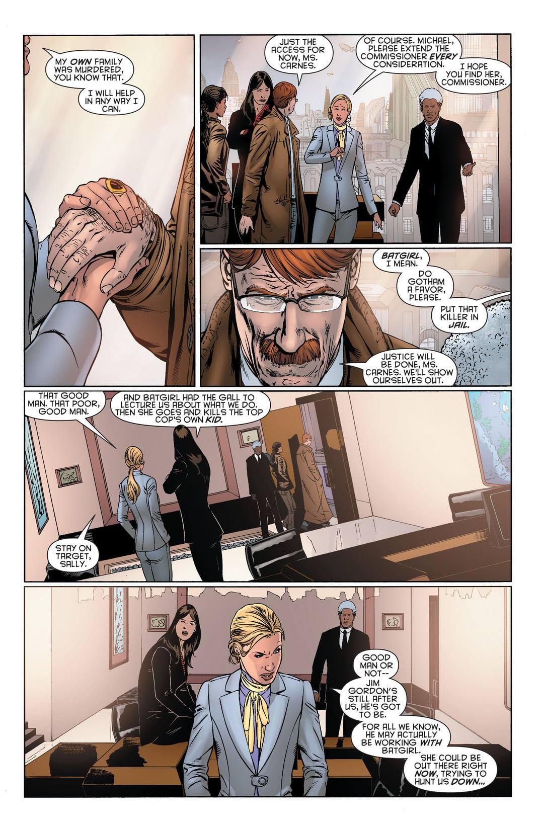 Batgirl (2011-) #23